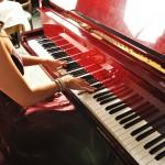 本物のピアノは、やはり違います