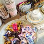 嬉しいお菓子のサービス