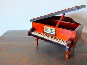 ピアノはオルゴールのようなもの